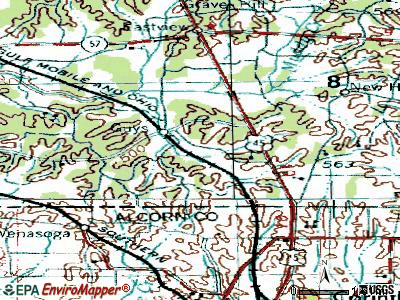 Guys topographic map