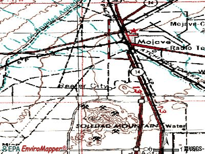 Mission Viejo topographic map