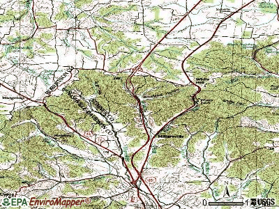 Millersville topographic map
