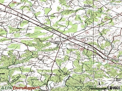 Pleasant View topographic map
