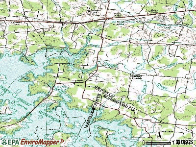 Rural Hill topographic map