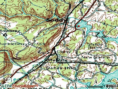 Soddy-Daisy topographic map