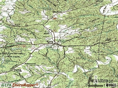White Bluff topographic map