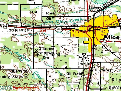 Alice Acres topographic map