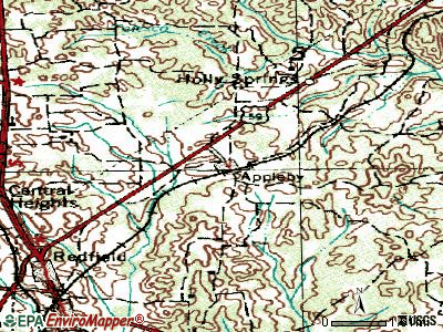 Appleby topographic map