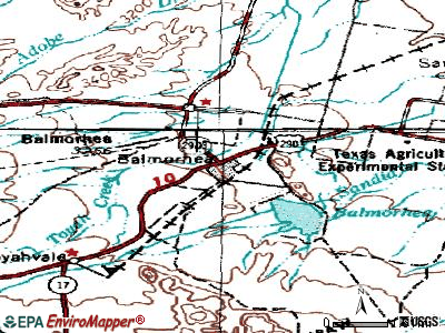 Balmorhea topographic map