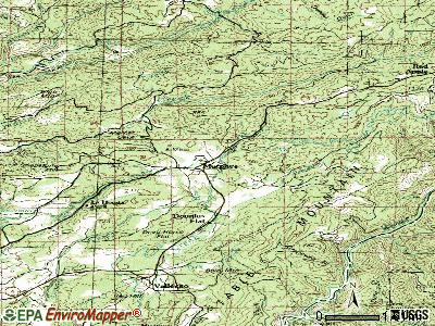 Murphys topographic map