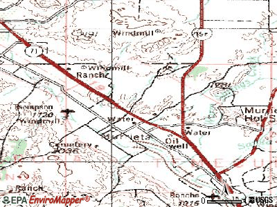 Murrieta topographic map