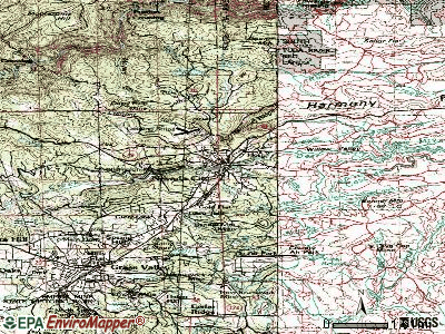 Nevada City topographic map