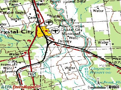 Chula Vista-River Spur topographic map