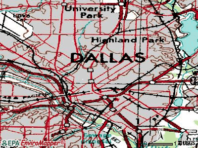 Dalhart topographic map