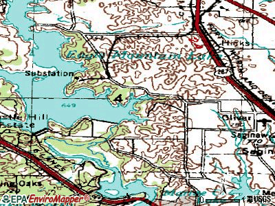Eagle Mountain topographic map