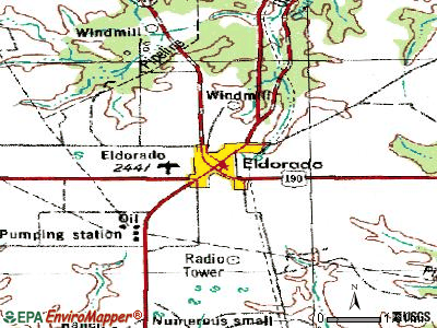 Eldorado topographic map