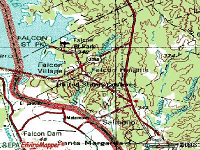 Falcon Heights topographic map