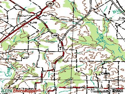 Grays Prairie topographic map