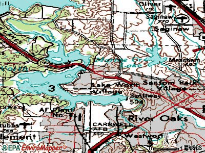 Lake Worth topographic map