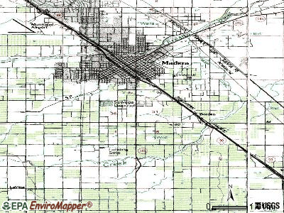 Parkwood topographic map
