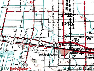 Midway North topographic map
