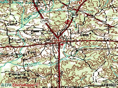 Mount Enterprise topographic map