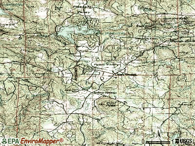 Penn Valley topographic map