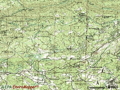 Phoenix Lake-Cedar Ridge topographic map