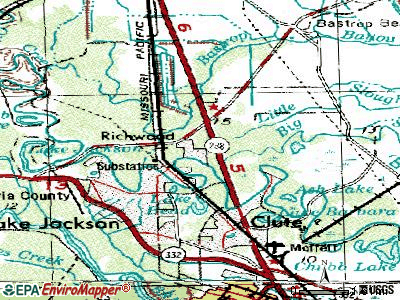 Richwood topographic map