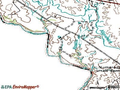Rosita South topographic map