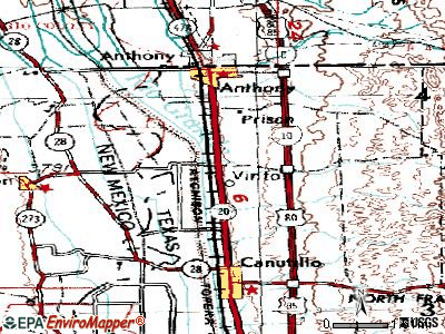 Vinton topographic map
