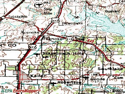 Weslaco topographic map