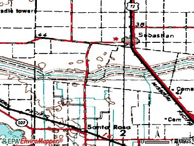 Wyldwood topographic map