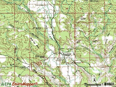 Boulder topographic map