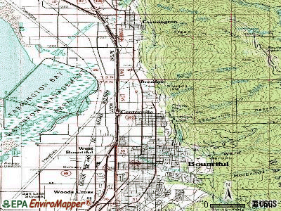 Centerville topographic map