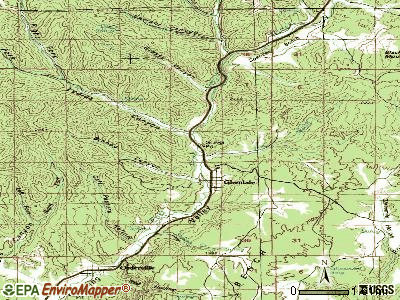 Glendale topographic map
