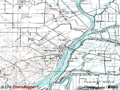 Rio Vista topographic map