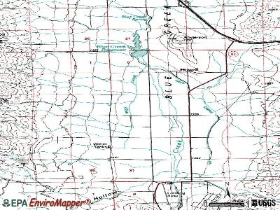 Howell topographic map