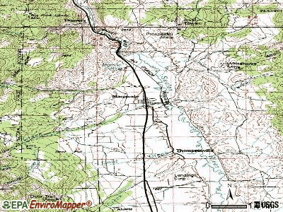 Marysvale topographic map