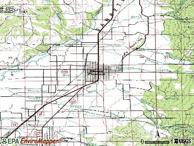 Mount Pleasant topographic map