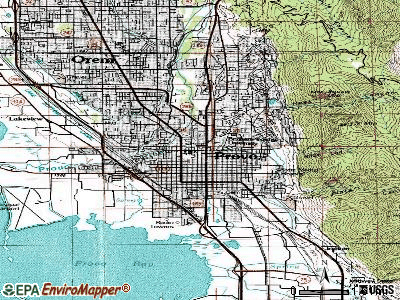 Provo topographic map