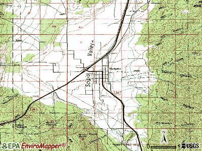 Scipio topographic map