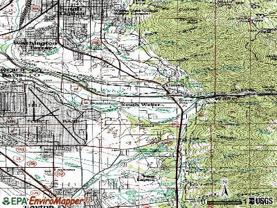 South Weber topographic map