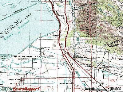 South Willard topographic map