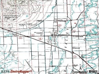 Tremonton topographic map