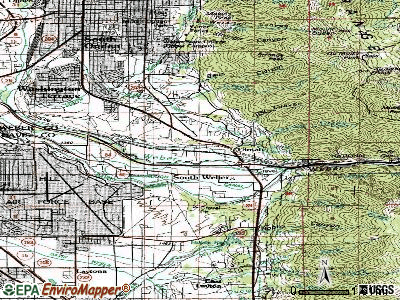 Uintah topographic map