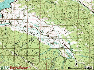 Wallsburg topographic map