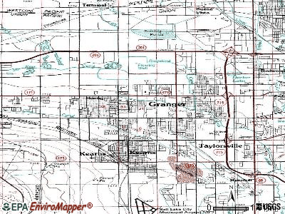 West Valley City topographic map