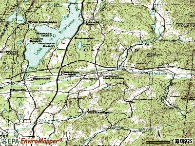 Castleton topographic map