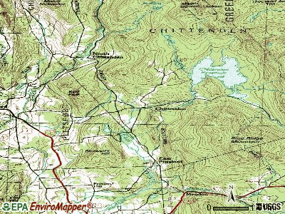 Chittenden topographic map