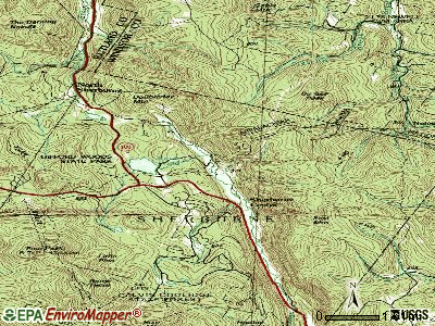 Killington topographic map