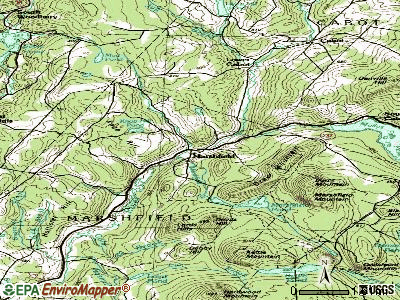 Marshfield topographic map