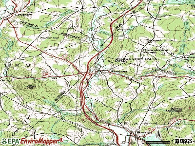Orleans topographic map